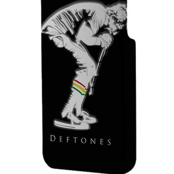 Best 3D Full Wrap Phone Case - Hard (PC) Cover with Deftones Design