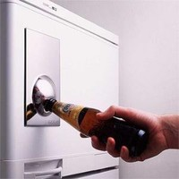 Bottle Opener Fridge Magnet