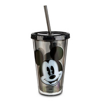 Disney Mickey Mouse Portrait Tumbler with Straw | Disney Store