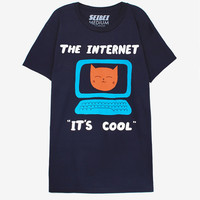 The Internet unisex fitted T-shirt