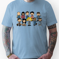 Parks and Rec Peanuts Unisex T-Shirt