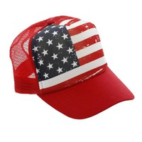 Stars & Stripes Trucker Hat
