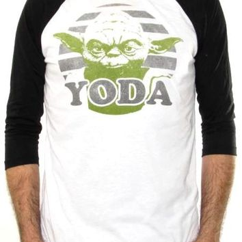 Star Wars Baseball Jersey Shirt - Yoda