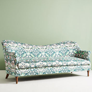 Liberty for Anthropologie Strawberry Thief Pied-A-Terre Sofa