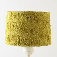 Ranunculus Swirl Lampshade by Anthropologie