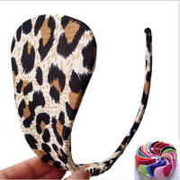 Leopard Sexy C-String Thongs Panties Lace sexy Lingerie Stealth C String 5 Colors  underwear women