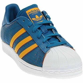 Adidas Youths Superstar F37789 Leather Trainers
