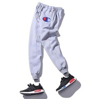 Champion Women Men Fashion Casual Pants Trousers Sweatpants-5