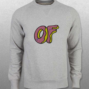 odd future sweater Gray Sweatshirt Crewneck Men or Women Unisex Size with variant colour