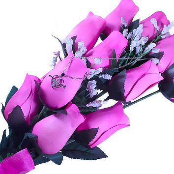 Pink Bouquet | Jewelry Roses®