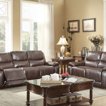 Allenwood Reclining Sofa & Loveseat Set 8429