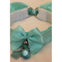Blue Paw Collar - Kitten's Playpen