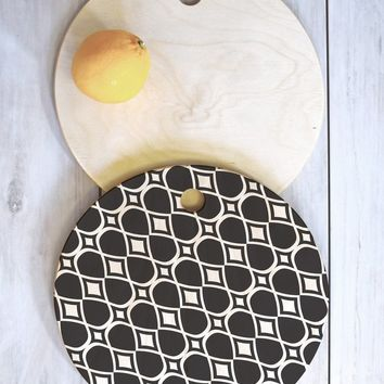 Heather Dutton infinita Cutting Board Round