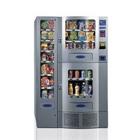 Office Deli Snack Soda Combo Vending Machine: Industrial & Scientific