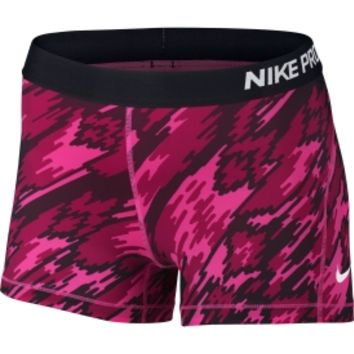 Nike Women's 3'' Pro Cool Overdrive Printed Compression Shorts | DICK'S Sporting Goods