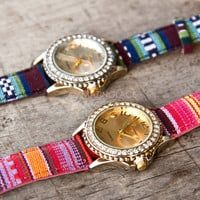 Encino Valley Tribal Woven Watches