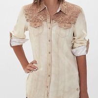 Roar Embroidered Shirt