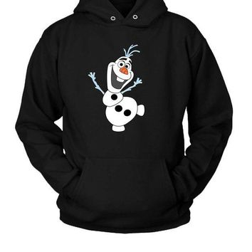 ICIK7H3 Olaf Frozen Quotes About Love (2) Hoodie Two Sided