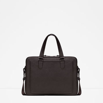 EMBOSSED BRIEFCASE