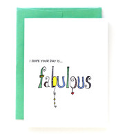 Fabulous Day - Birthday Card