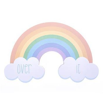 Over It Rainbow Notepad