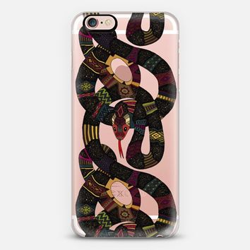 geo snakes transparent iPhone 6s case by Sharon Turner | Casetify
