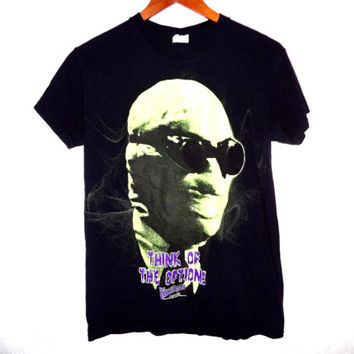 Vintage 90s The Invisible Man Glow In The Dark Movie Shirt - Universal Studios - Small - Monster Movie Collection -