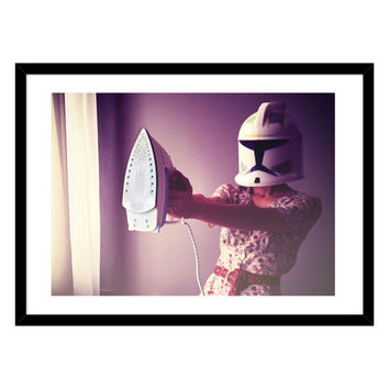 Curioos If Only I Were a Jedi by Hello I'm Wild (Framed Giclee)