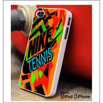 Nike Tennis Logo iPhone 4s iPhone 5 iPhone 5s iPhone 6 case, Galaxy S3 Galaxy S4 Galaxy S5 Note 3 Note 4 case, iPod 4 5 Case
