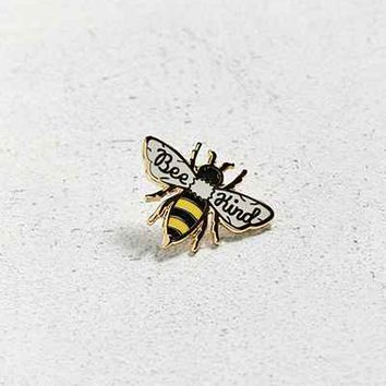 Beholder Bee Kind Pin - Urban Outfitters