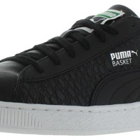 Puma Basket Men's Leather Court Sneakers Shoes
