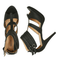Two Buckle Strappy Heel - Teen Clothing by Wet Seal