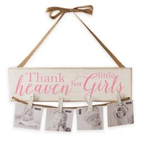 Mud Pie Little Girls Hanging Photo Holder