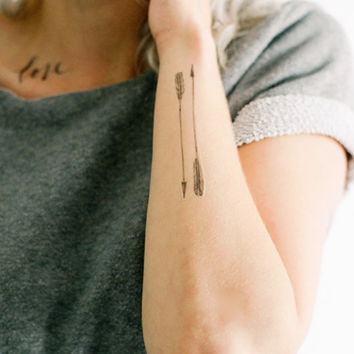 4-pack of Arrow Temporary Tattoos