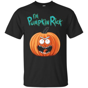 Perfect Rick and Morty Pumpkin Rick Halloween T shirt