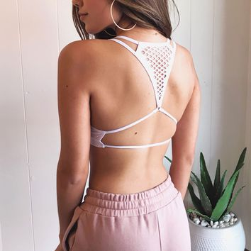 Cage Racerback Bralette by Lace Lab Intimates
