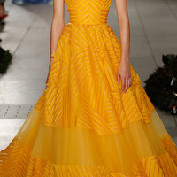 Embroidered Silk Organza Gown | Moda Operandi