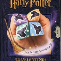 Harry Potter Fun Fortune-Telling Valentine Cards.