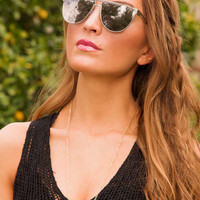 Making Waves Sunglasses - Silver