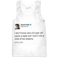 Gerard Way Taser Tweet Tank