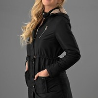 Hooded Fall Jacket