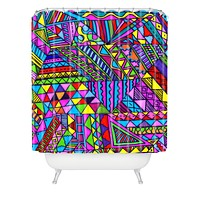 Lisa Argyropoulos Wild One 1 Shower Curtain
