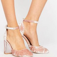 ASOS PRIMA DONNA High Block Heels
