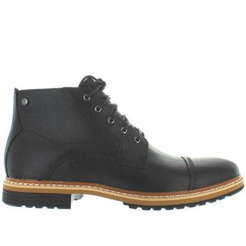 Timberland Earthkeepers West Haven Cap Toe   Waterproof Black Leather Chukka Boot