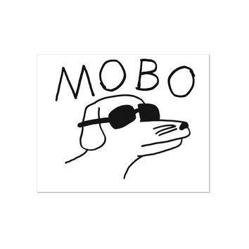 Modern Baseball MoBo Wall Flag