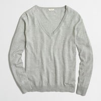 Cotton V-neck sweater : FactoryWomen Pullovers | Factory