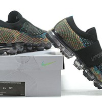 Nike Air VaporMax Flyknit Moc Rainbow Black Multicolour Sneaker
