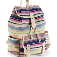 Beachy Stripe Backpack