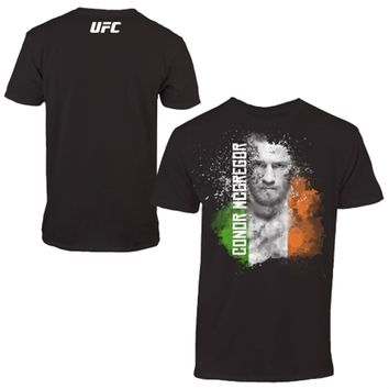 Men's UFC Conor McGregor Black Faced T-Shirt