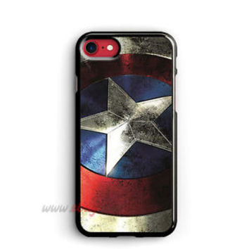 Captain America iPhone Cases Vintage Shield Samsung Galaxy Phone Case iPod cover